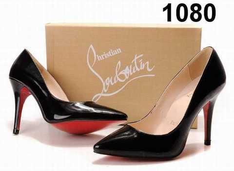 chaussure louboutin pour femme pas cher