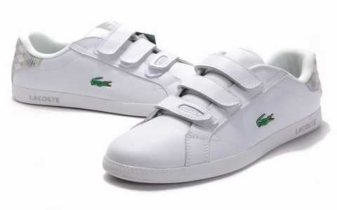 Lacoste Chaussure Homme Blanche