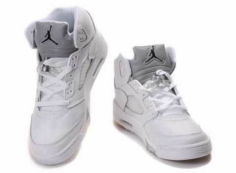 basket jordan femme grise